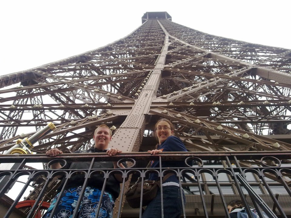 Up the Eiffel Tower