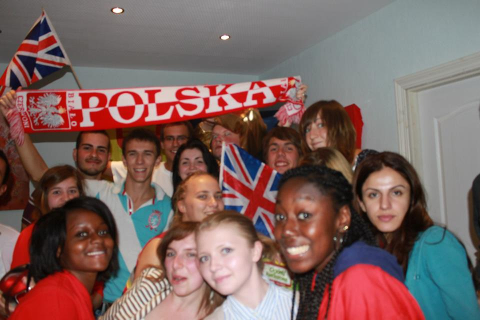 The intercultural night - post drinks!