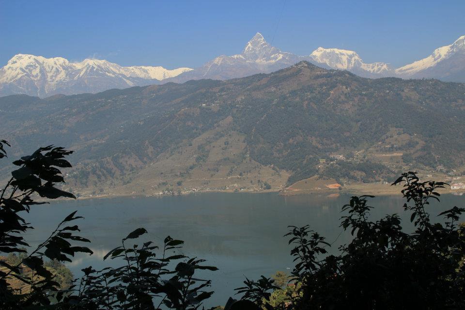 A view near Pokhara