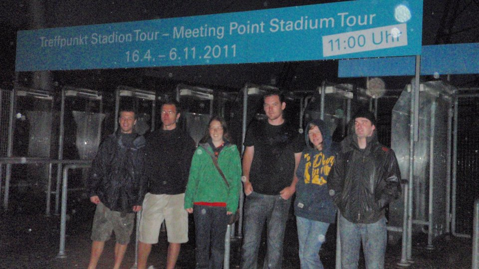 At the Munich Olympic stadium